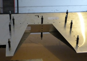 Center Rib Test install
